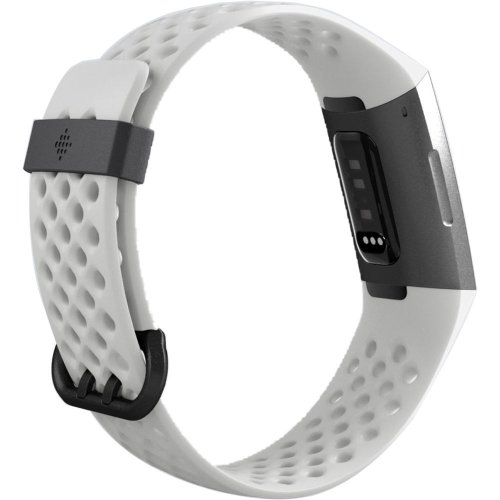 Fitbit Charge3 FB410GMWT-EU Graphite/White Silicon
