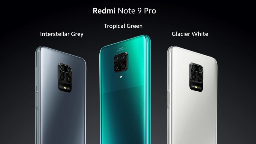 Mobitel Xiaomi Redmi Note 9 Pro 6/64GB Interstellar Gray