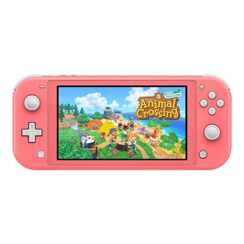Konzola Nintendo Switch Lite - Koraljna + Animal Crossing: New Horizons