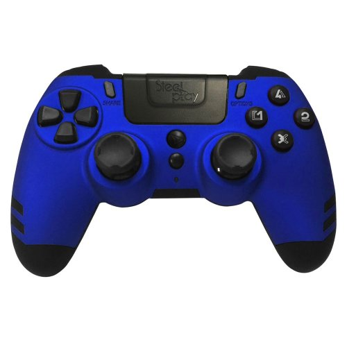 Bežični kontroler Steelplay MetalTech - Sapphire Blue PS4/PC